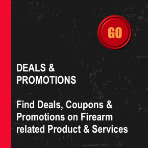 Deals and Promotions - Find deals, coupons, and promotions on firearm-related products and services. Create a Free Account today!